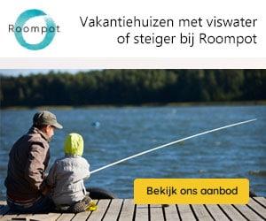 roompot viswater banner